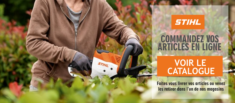 acceder le catalogue stihl